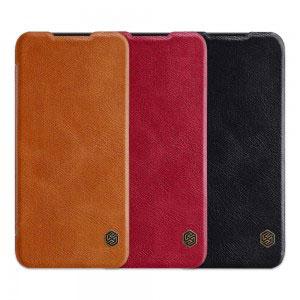 Кожен калъф Nillkin Qin за Xiaomi Redmi Note 7, Note 7 Pro