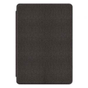 Кожен калъф за Amazon Kindle Paperwhite 4 2018 - Тъмносива текстура