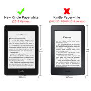 Кожен калъф за Amazon Kindle Paperwhite 4 2018 – Слънчогледите
