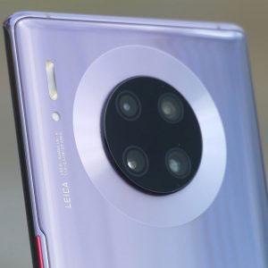 Гъвкав стъклен протектор за задна камера за Huawei Mate 30 Pro