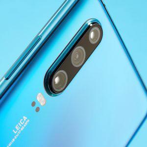 Гъвкав стъклен протектор за задна камера за Huawei P30