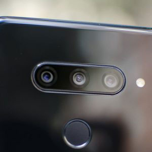 Гъвкав стъклен протектор за задна камера за LG V40 ThinQ