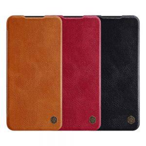 Кожен калъф Nillkin Qin за Xiaomi Redmi Note 8 Pro
