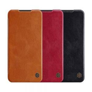 Кожен калъф Nillkin Qin за Xiaomi Redmi Note 8T