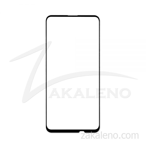 Стъклен протектор за Huawei P Smart Z (черна рамка с цяло лепило)