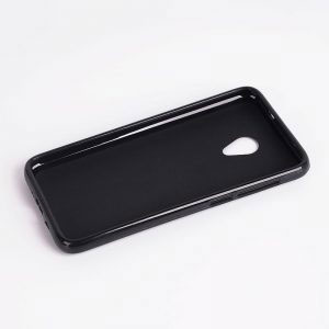 Силиконов калъф гръб за Alcatel U5 - черен