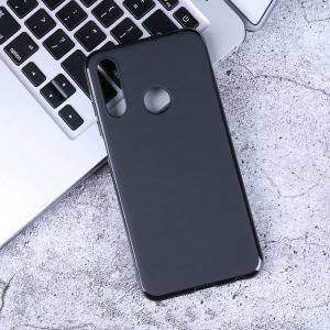 Силиконов калъф гръб за Lenovo Z6 Lite (Z6 Youth) - черен