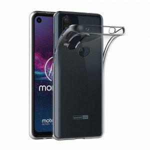 Силиконов калъф гръб за Motorola One Action