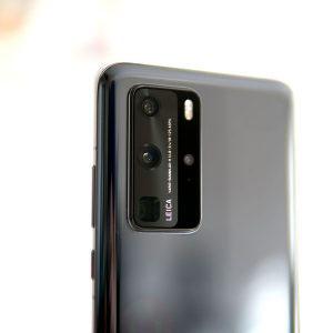 Гъвкав стъклен протектор за задна камера за Huawei P40 Pro