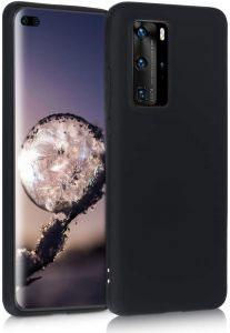 Силиконов калъф гръб за Huawei P40 Pro - черен