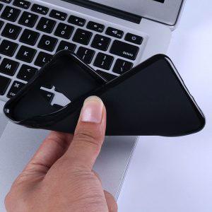 Силиконов калъф гръб за Nokia 7.1 - черен