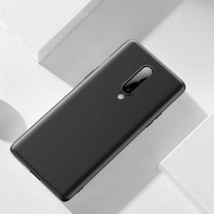 Силиконов калъф гръб за OnePlus 8 - черен