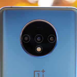 Гъвкав стъклен протектор за задна камера за OnePlus 7T