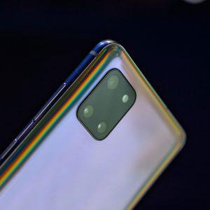 Гъвкав стъклен протектор за задна камера за Samsung Galaxy Note 10 Lite