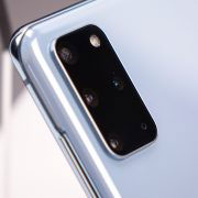 Гъвкав стъклен протектор за задна камера за Samsung Galaxy S20+ Plus