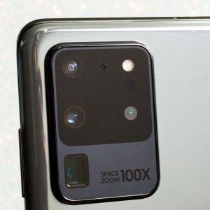 Гъвкав стъклен протектор за задна камера за Samsung Galaxy S20 Ultra