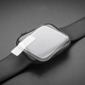 Стъклен протектор с течно UV лепило за Apple Watch Series SE 44mm