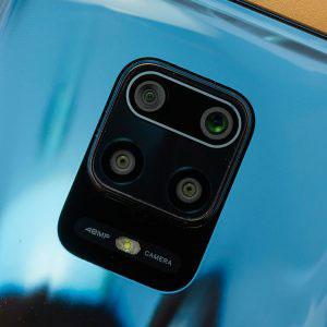 Гъвкав стъклен протектор за задна камера за Xiaomi Redmi Note 9 Pro