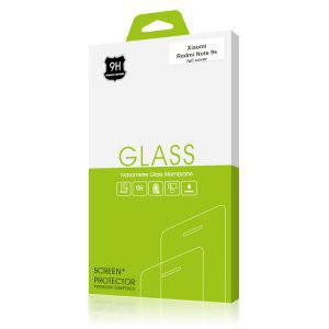 Стъклен протектор за Xiaomi Redmi Note 9S (черна рамка с цяло лепило)