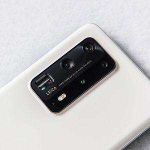 Гъвкав стъклен протектор за задна камера за Huawei P40 Pro+ Plus
