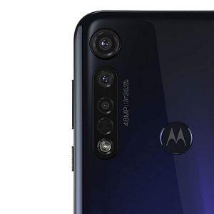 Гъвкав стъклен протектор за задна камера за Motorola Moto G8 Plus