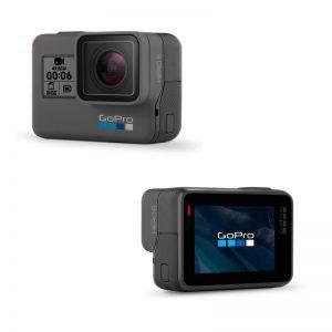 Стъклен протектор за GoPro Hero 6 Black, дисплей + обектив