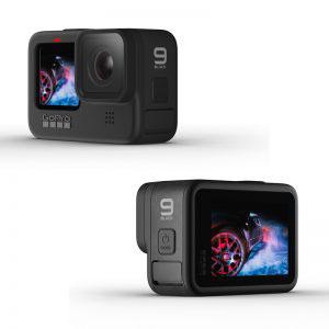Стъклен протектор за GoPro Hero 9 Black, дисплей + обектив
