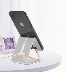 Универсална алуминиева стойка за таблет, телефон за бюро, маса