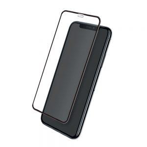 Стъклен протектор за Apple iPhone 11 (3D черен)