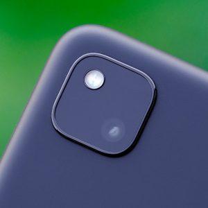 Гъвкав стъклен протектор за задна камера за Google Pixel 4a
