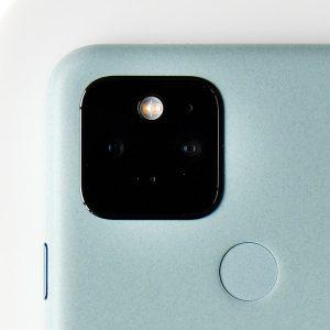 Гъвкав стъклен протектор за задна камера за Google Pixel 5