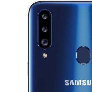 Гъвкав стъклен протектор за задна камера за Samsung Galaxy A20s