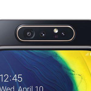 Гъвкав стъклен протектор за задна камера за Samsung Galaxy A80