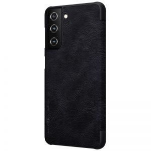 Кожен калъф Nillkin Qin за Samsung Galaxy S21, 5G