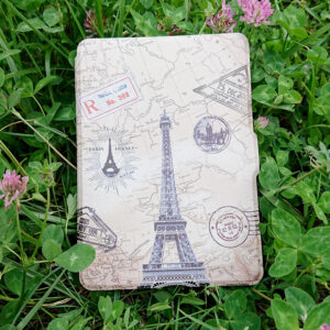 "Кожен калъф за Kindle Paperwhite 5 2021 6.8"" - Айфелова кула"
