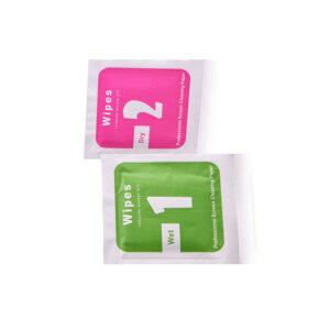 Стъклен протектор за OnePlus 5T (цветна рамка със странично лепило)