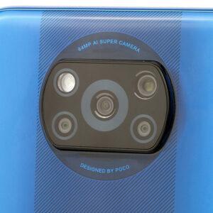 Гъвкав стъклен протектор за задна камера за Xiaomi Poco X3 Pro