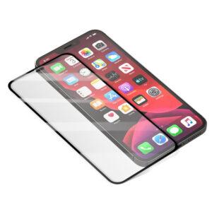 Стъклен протектор за Apple iPhone 12 6.1 (3D черен)