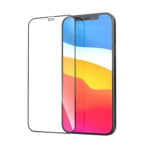 Стъклен протектор за Apple iPhone 12 Mini 5.4 (3D черен)