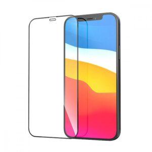 Стъклен протектор за Apple iPhone 12 Pro Max 6.7 (3D черен)